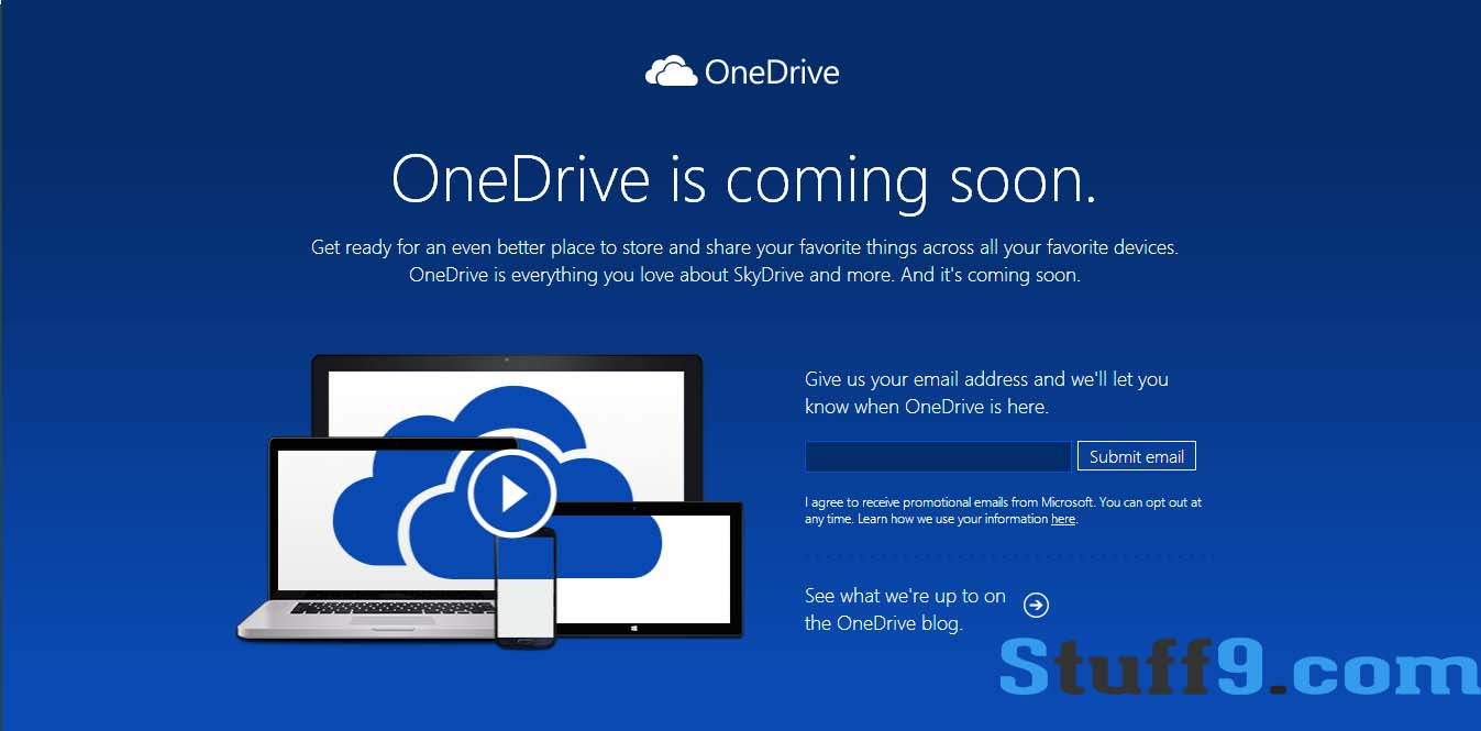 Microsoft Renaming Its Skydrive to Onedrive